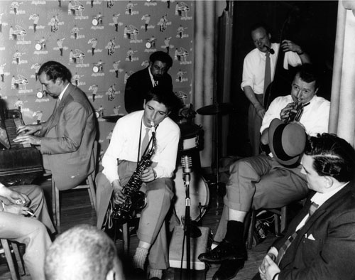 Studio 20 with Humphrey Lyttelton (right) by Terry Cryer
