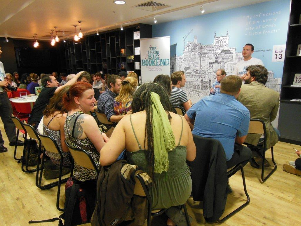 Launching the 'LS13' anthology: a room full of Leeds' freshest literary talent!