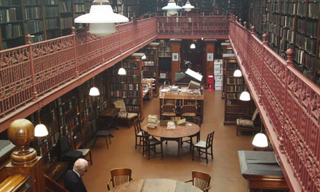 The Leeds Library. Photo by theguardian.com