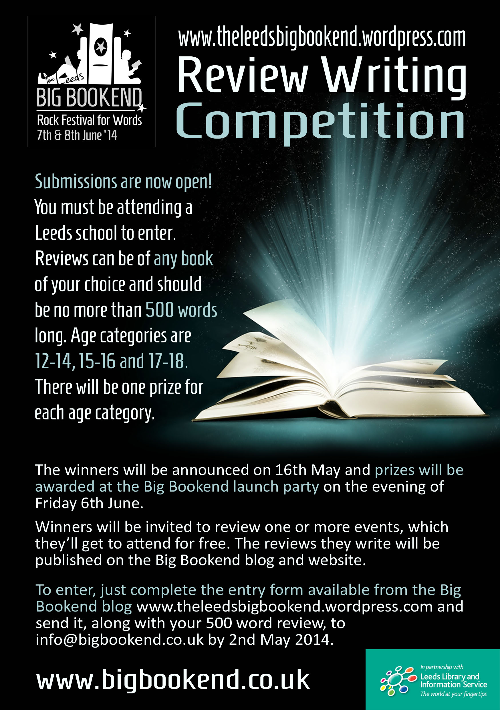 BBE YA competition flyer copy