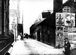 1898. View looking north from Churchill Institute showing the Theatre Royal. Courtesy of www.leodis.net