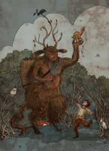 Krampus by Kathleen Jennings © 2014