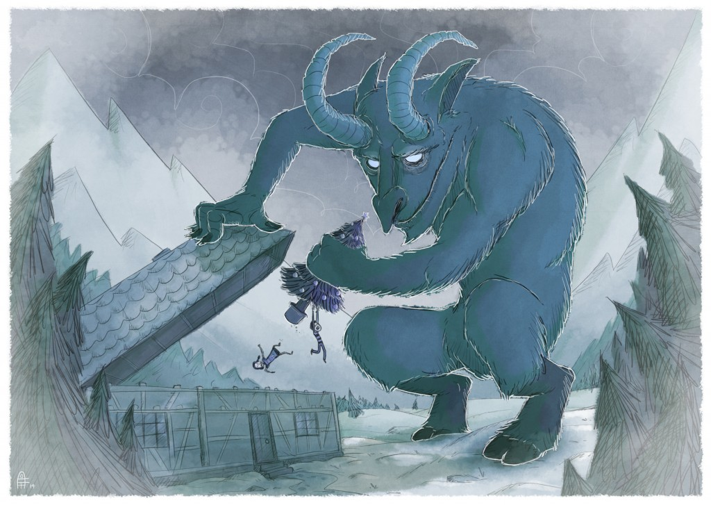 Krampus by Simon Cottee © 2014