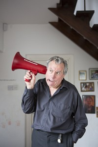 Terry Jones with Red Ladder Theatre Company