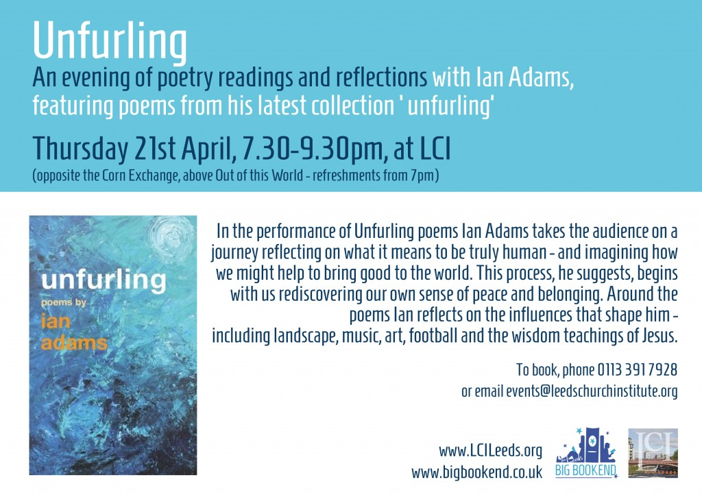 Unfurling Book Launch
