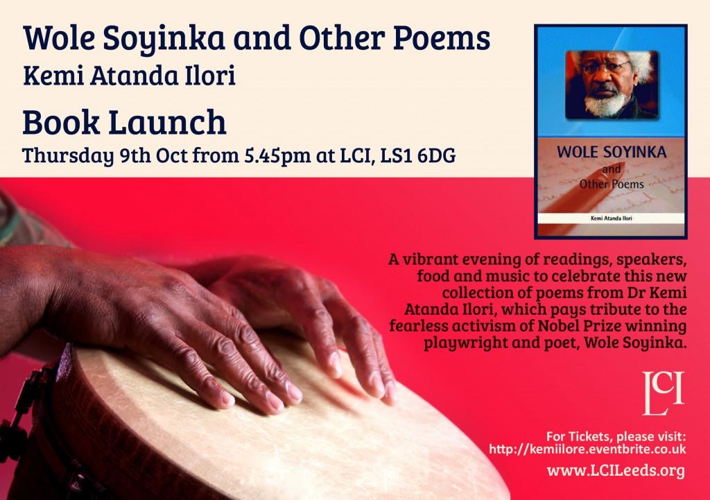 Wole Soyinka flyer copy