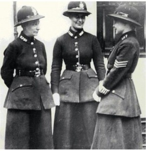 Women Police in London.  Found on myvintagelondon.tumblr.com