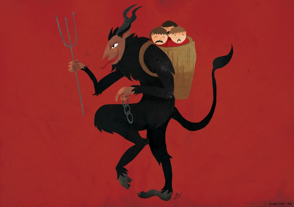 Krampus by Seana Seeto © 2014