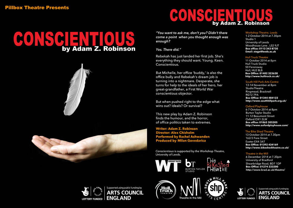 Conscientious by Adam Z Robinson
