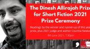 The Dinesh Allirajah Prize for Short Fiction – Prize Ceremony